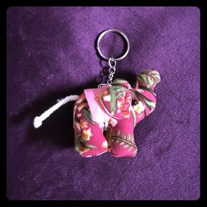 Accessories - Stuffed Elephant Keychain From Thailand